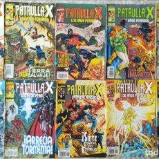 Cómics: PATRULLA X LOS AÑOS PERDIDOS 1,2,3,4,5,6,7,8,9,11. Lote 213537768