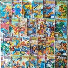 Cómics: LOS 4 FANTASTICOS HEROES RETURN COMPLETA 34 NUMEROS. Lote 213554746