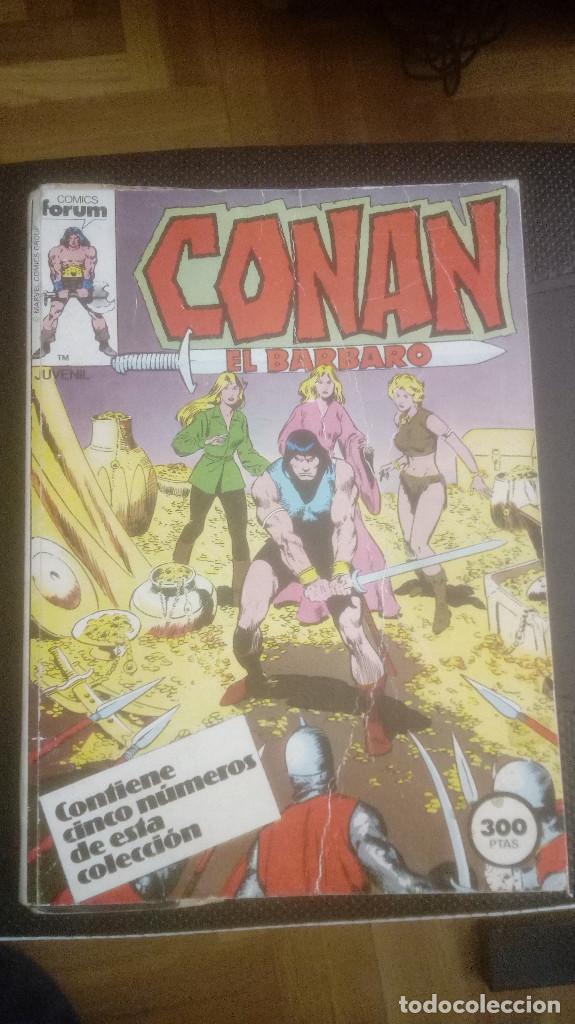 CONAN EL BARBARO. RETAPADO 51 AL 55 (Tebeos y Comics - Forum - Conan)