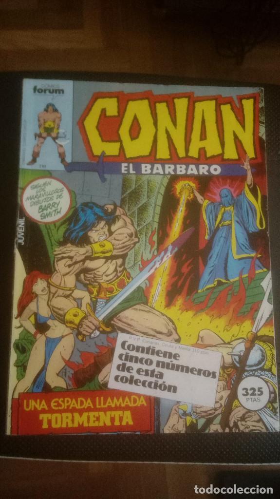 CONAN EL BARBARO. RETAPADO 71 AL 75 (Tebeos y Comics - Forum - Conan)