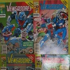 Comics: LOS VENGADORES VOL 1 120 A 123: LA OBSESIÓN POR COLECCIONAR. FORUM. Lote 213769278