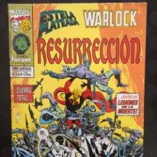 Cómics: ESTELA PLATEADA & WARLOCK : RESURRECCIÓN ( 1994 ).. Lote 213786505