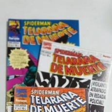 Cómics: SPIDERMAN TELERAÑA DE MUERTE COMPLETA 3 NUMEROS ESTADO MUY BUENO COMICS FORUM MAS ARTICULOS. Lote 213829076