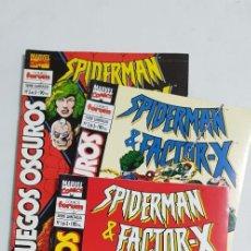 Cómics: SPIDERMAN & FACTOR X COMPLETA 3 NUMEROS ESTADO MUY BUENO COMICS FORUM MAS ARTICULOS. Lote 213829123