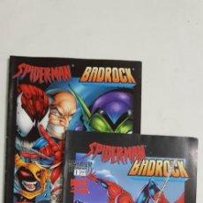 Cómics: SPIDERMAN BADROCK COMPLETA 2 NUMEROS ESTADO MUY BUENO COMICS FORUM MAS ARTICULOS. Lote 213829142