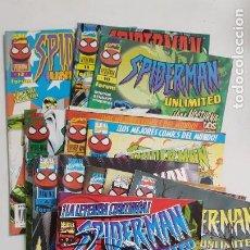 Cómics: SPIDERMAN UNLIMITED COMPLETA 12 NUMEROS ESTADO MUY BUENO MAS ARTICULOS ACEPTO OFERTAS. Lote 213829287