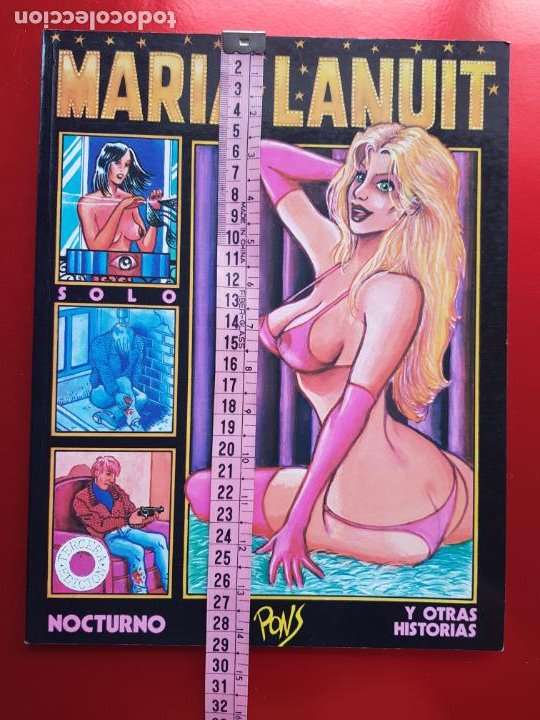 Cómics: COMIC-MARIA LANUIT-NOCTURNO-PONS-1990-VER FOTOS - Foto 8 - 213850987
