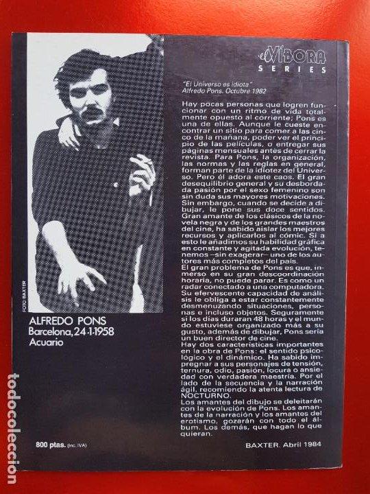 Cómics: COMIC-MARIA LANUIT-NOCTURNO-PONS-1990-VER FOTOS - Foto 14 - 213850987