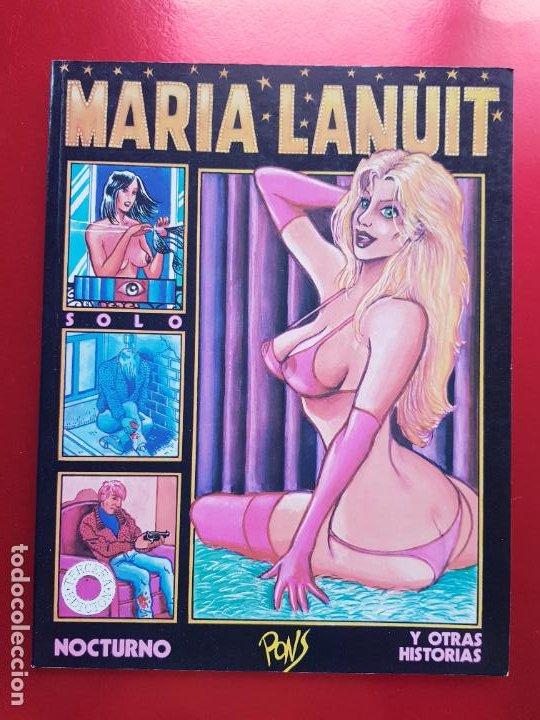 COMIC-MARIA LANUIT-NOCTURNO-PONS-1990-VER FOTOS (Tebeos y Comics - Forum - Otros Forum)
