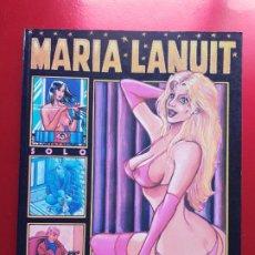 Cómics: COMIC-MARIA LANUIT-NOCTURNO-PONS-1990-VER FOTOS. Lote 213850987
