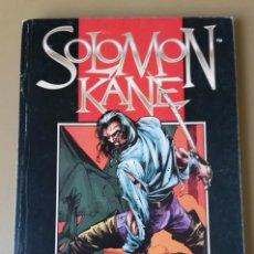 Cómics: SOLOMON KANE. OBRA COMPLETA. 7 COMIC-BOOKS EN UN RETAPADO (MIGNOLA, CHAYKIN Y OTROS DIBUJANTES). Lote 213851212