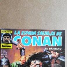 Cómics: LA ESPADA SALVAJE DE CONAN N° 136. Lote 213858075