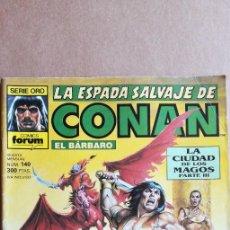 Cómics: LA ESPADA SALVAJE DE CONAN N° 140. Lote 213858138