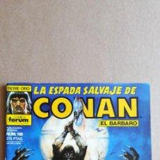 Cómics: LA ESPADA SALVAJE DE CONAN N° 109. Lote 213858328