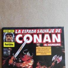 Cómics: LA ESPADA SALVAJE DE CONAN N° 133. Lote 213858373