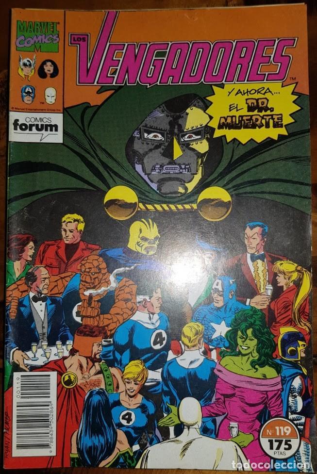 LOS VENGADORES VOL 1, 119. FORUM (Tebeos y Comics - Forum - Vengadores)