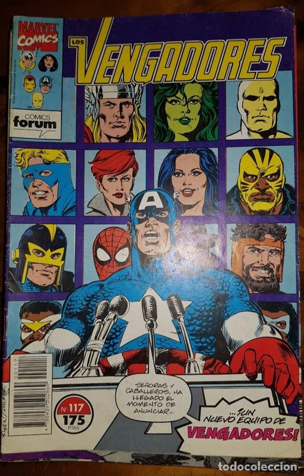 LOS VENGADORES VOL 1, 117. FORUM (Tebeos y Comics - Forum - Vengadores)