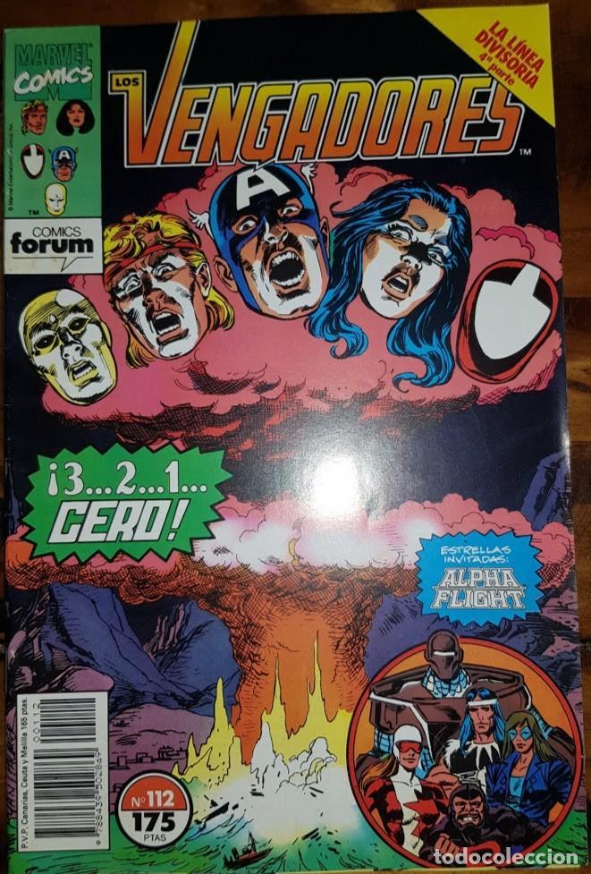 LOS VENGADORES VOL 1, 112. FORUM (Tebeos y Comics - Forum - Vengadores)