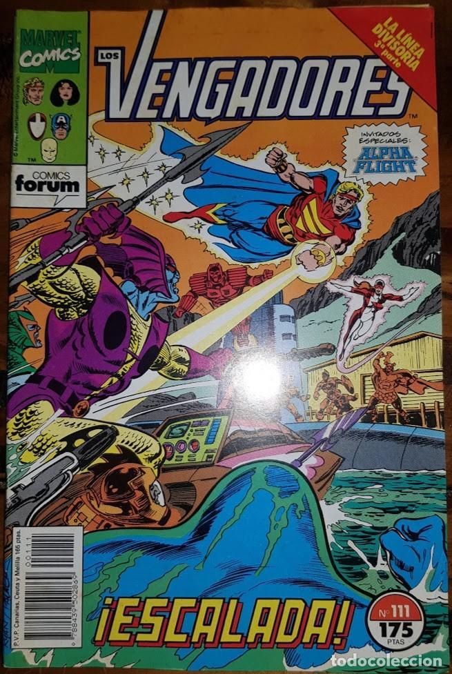 LOS VENGADORES VOL 1, 111. FORUM (Tebeos y Comics - Forum - Vengadores)