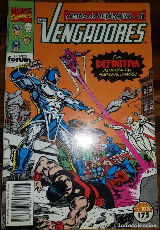 LOS VENGADORES VOL 1, 103. FORUM (Tebeos y Comics - Forum - Vengadores)
