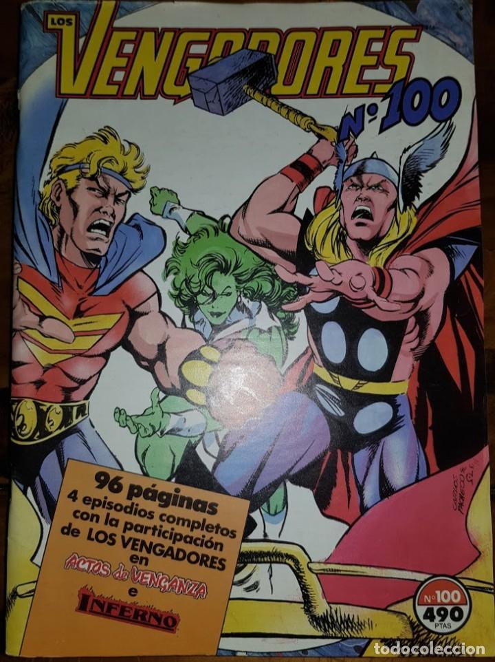 LOS VENGADORES VOL 1, 100. FORUM (Tebeos y Comics - Forum - Vengadores)
