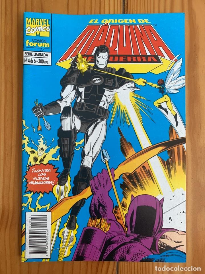MÁQUINA DE GUERRA EL ORIGEN Nº 4 (Tebeos y Comics - Forum - Iron Man)