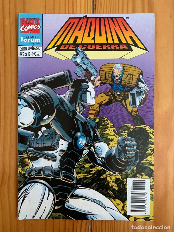 MÁQUINA DE GUERRA Nº 2 (Tebeos y Comics - Forum - Iron Man)