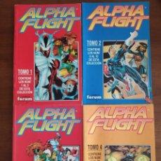 Cómics: ALPHA FLIGHT Nº 1 AL 20. Lote 213874273