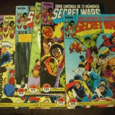 Cómics: LOTE 7 COMICS (1 AL 7) SECRET WARS VOL. 1 2ª EDICION FORUM BUEN ESTADO. Lote 213915432