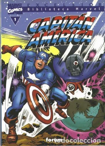 BIBLIOTECA MARVEL CAPITAN AMERICA TAMBIEN SUELTOS (Tebeos y Comics - Forum - Capitán América)