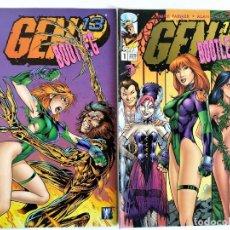 Cómics: GEN 13 BOOTLEG # 1-2 (ALAN DAVIS) ~ IMAGE / WORLD COMICS / FORUM. Lote 213975762