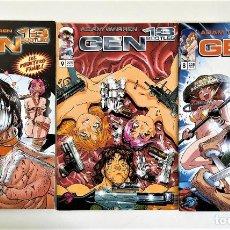 Cómics: GEN 13 BOOTLEG # 8-9-10 (ADAM WARREN) ~ IMAGE / WORLD COMICS / FORUM. Lote 213976640