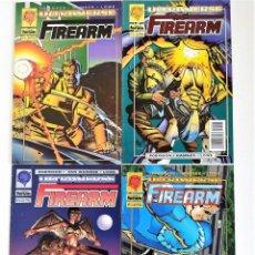 Cómics: FIREARM (JAMES ROBINSON & CULLY HAMMER) SERIE LIMITADA DE 4 CÓMICS ~ ULTRAVERSE / FORUM (1995). Lote 213977376