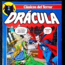 Cómics: DRACULA - CLASICOS DEL TERROR Nº 2 FORUM ''BUEN ESTADO''. Lote 214032373