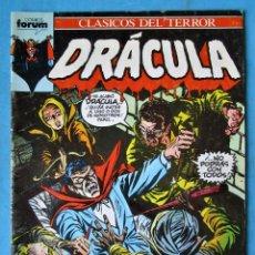 Cómics: DRACULA - CLASICOS DEL TERROR Nº 12 - FORUM. Lote 214034111