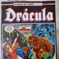Cómics: DRÁCULA - CLÁSICOS DEL TERROR Nº 17 BIMESTRAL 64 PÁGINAS - FORUM. Lote 214035657