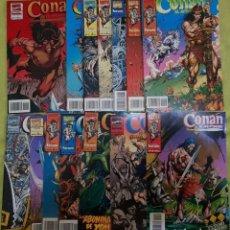 Cómics: CONAN EL AVENTURERO 01 A 14 (COMPLETA). FORUM. Lote 214041912