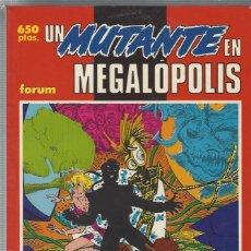 Fumetti: NUEVOS MUTANTES - UN MUTANTE EN MEGALOPOLIS - TOMO - A ESTRENAR !!. Lote 214069668
