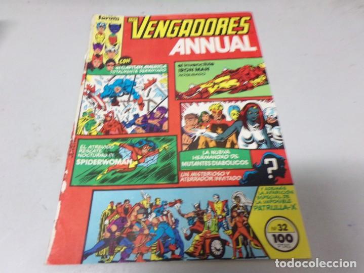 LOS VENGADORES VOL. 1 Nº 32 ANNUAL FORUM (Tebeos y Comics - Forum - Vengadores)