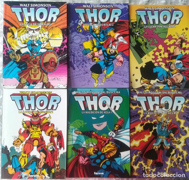 THOR LA MALDICION DE HELA, LUCHA POR ASGARD, LUCHA POR SUTUR COMPLETAS (Tebeos y Comics - Forum - Thor)