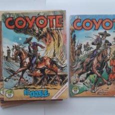 Cómics: 17 COMICS EL COYOTE J. MALLORQUIN CONTIENE Nº 1, 2, 3, 4, 6, 7, 8, 9, 11, 12, 13, 14, 15-16-20-21-23. Lote 214226885