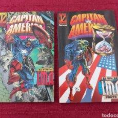 Comics: CAPITÁN AMÉRICA EL FIN DE IMA 1 Y 2 COMPLETA- BUEN ESTADO -COMICS FORUM MARVEL. Lote 214263522