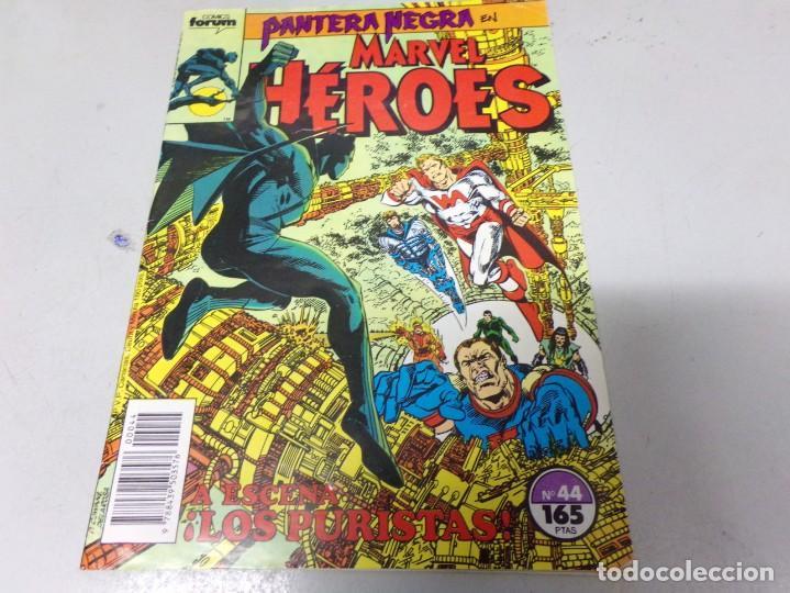 PANTERA NEGRA EN MARVEL HEROES. FORUM. NUMERO 44 (Tebeos y Comics - Forum - Otros Forum)