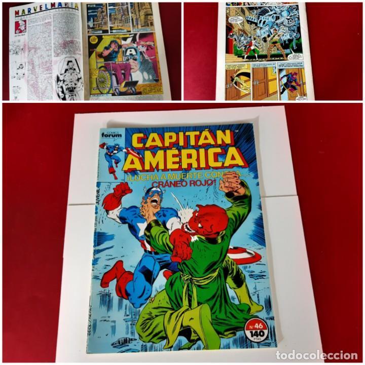 CAPITÁN AMÉRICA Nº 46 FORUM EXCELENTE ESTADO (Tebeos y Comics - Forum - Capitán América)