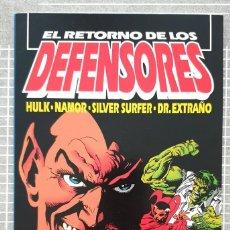 Cómics: EL RETORNO DE LOS DEFENSORES. NUMERO UNICO. COMICS FORUM 1993. Lote 214467400