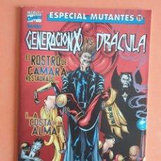 Cómics: GENERACIÓN X VS DRÁCULA - ESPECIAL MUTANTES 11. Lote 214529893