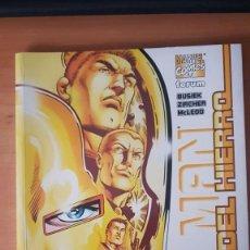 Cómics: IRON MAN: LA EDAD DEL HIERRO - TOMO - FORUM. Lote 214538197