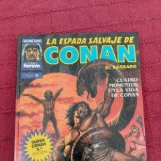 Cómics: LA ESPADA SALVAJE DE CONAN-SUPER CONAN N° 13 -SEGUNDA EDICION ,FANTASIA HEROICA, ESPADA Y BRUJERIA. Lote 214545465