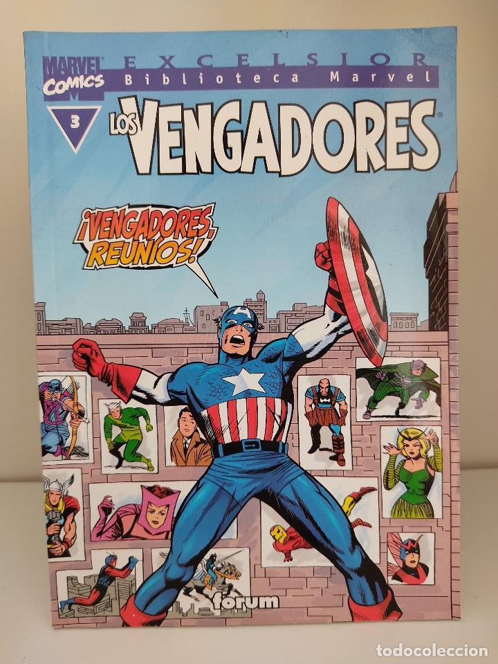 EXCELSIOR BIBLIOTECA MARVEL LOS VENGADORES NUMERO 3 (Tebeos y Comics - Forum - Vengadores)