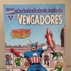 Cómics: EXCELSIOR BIBLIOTECA MARVEL LOS VENGADORES NUMERO 3. Lote 214557200